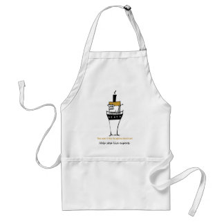 Stop Live Exports Adult Apron