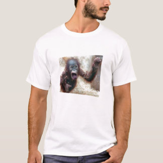 STOP looking at my butt! monkey T-Shirt