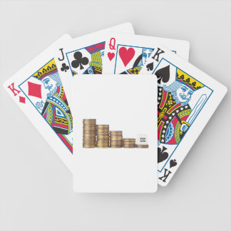 Stop loss bicycle playing cards