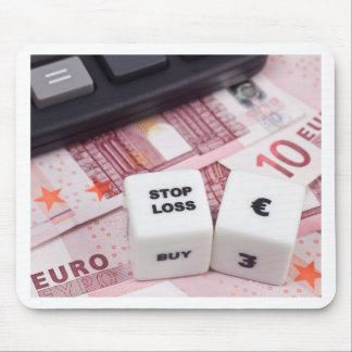 Stop loss Euro dollar Mouse Pad