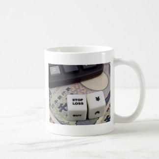 Stop loss Japanese Yen Coffee Mug
