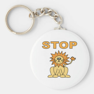 Stop Lying (Lion) Key Chains