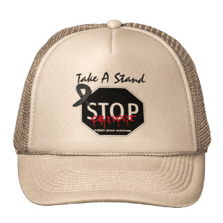 Stop Melanoma Take A Stand Trucker Hat