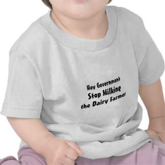 Stop Milking the Dairy Farmer Funny T Shirts