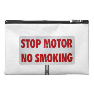 Stop Motor No Smoking Travel Accessory Bag