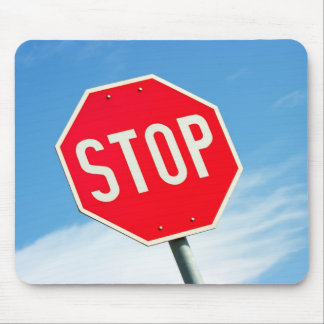 Stop Mouse Pad