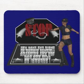Stop - Mousepad