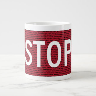 Stop Mug Jumbo Mugs