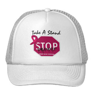 Stop Multiple Myeloma Cancer Take A Stand Trucker Hat