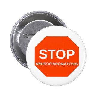 STOP neurofibromatosis Buttons