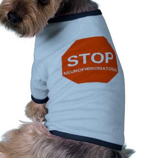 STOP neurofibromatosis Dog Tshirt