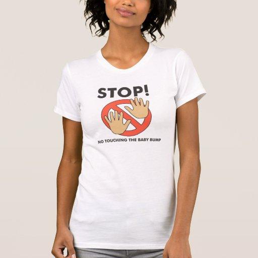 Stop! No Touching Baby Bump Tanks
