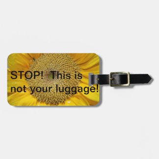 STOP!  Not your luggage! Luggage Tags