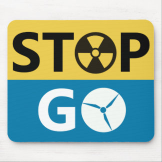 Stop Nuclear Mousepad
