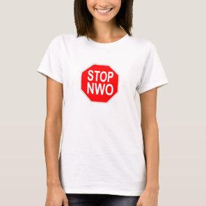 Stop NWO ladies shirts