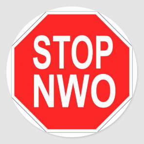 Stop NWO stickers