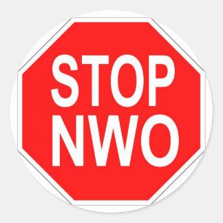 Stop NWO stickers