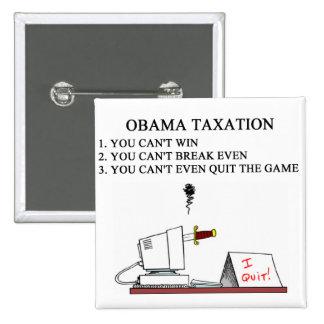 stop obama 2012 2 inch square button