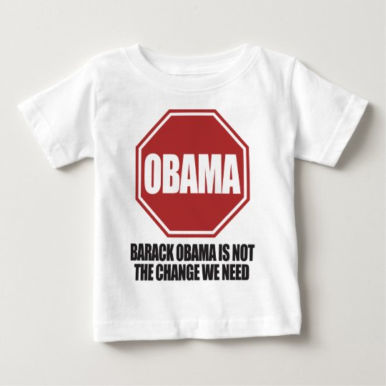 Stop Obama Baby T-Shirt