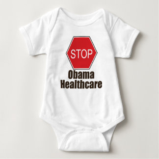 Stop Obama Healthcare Baby Bodysuit