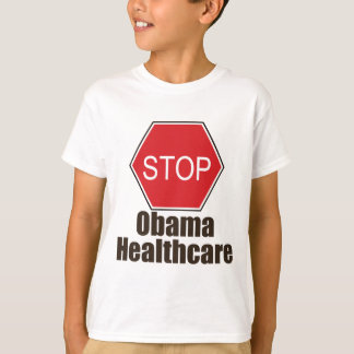 Stop Obama Healthcare Kid T-shirt