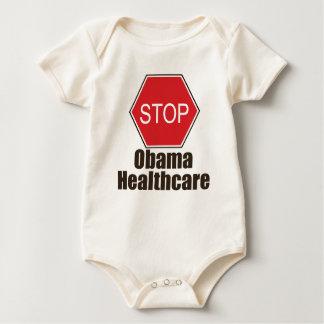 Stop Obama Healthcare Organic Infant Creeper