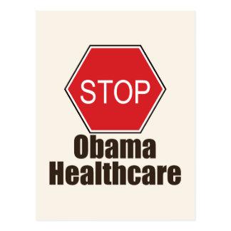 Stop Obama Healthcare Postcard