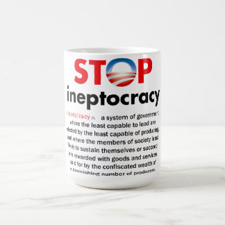 Stop Obama's Ineptocracy Coffee Mug