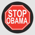 Stop Obama Stickers