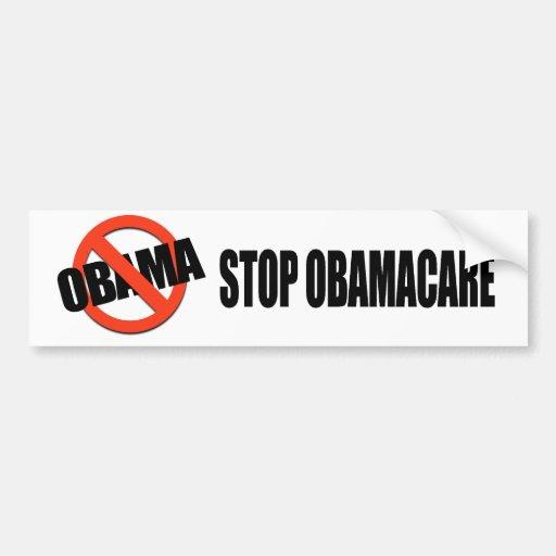 Stop Obamacare Car Bumper Sticker