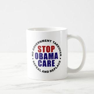 Stop Obamacare Coffee Mugs