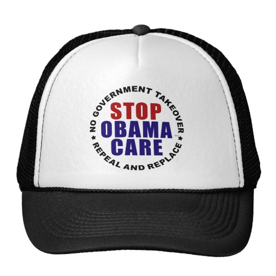 Stop Obamacare Trucker Hat