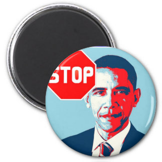 Stop Obamanation Pop Art Political Satire Product Magnet