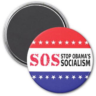 Stop Obama's Socialism - SOS Magnet