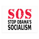 Stop Obama's Socialism - SOS Post Cards