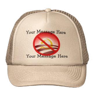 Stop Obama's Totalitarian Plan - Custom Text! Hat