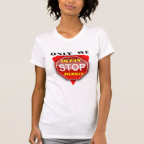 Stop Ocean Debris Ladies T-shirt