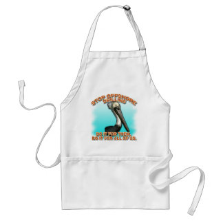 Stop Offshore Drilling for the Pelicans Tshirts Adult Apron