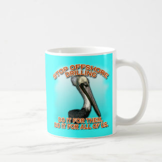 Stop Offshore Drilling for the Pelicans Tshirts Coffee Mug