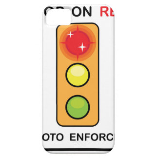 Stop on red Photo enforced Sign iPhone SE/5/5s Case
