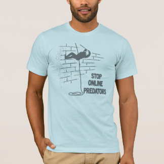 Stop Online Predators T-Shirt