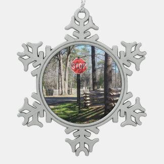 Stop Ornament