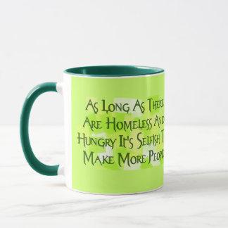 Stop Overpopulating Mug