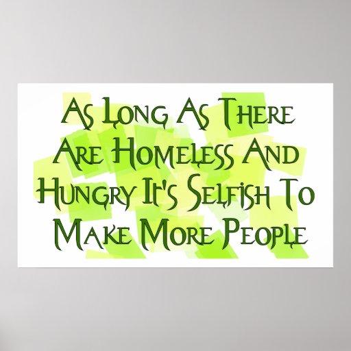 Overpopulation Slogans Stop Overpopulating Po...