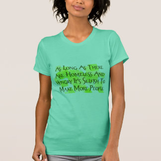 Stop Overpopulating T-Shirt