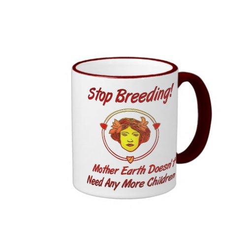 Stop Overpopulation Ringer Mug