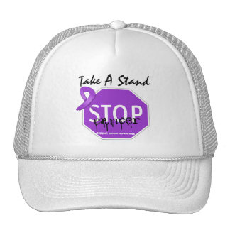 Stop Pancreatic CancerTake A Stand Trucker Hats