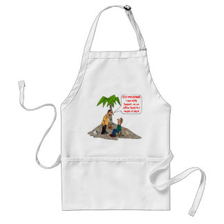 Stop Panicking, I Owe Child Support Adult Apron