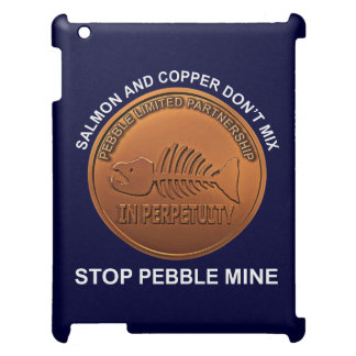 Stop Pebble Mine - Pebble Mine Penny iPad Cases