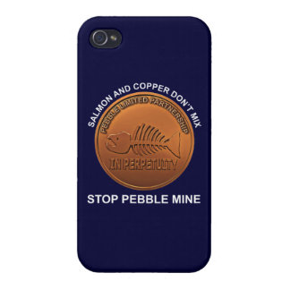 Stop Pebble Mine - Pebble Mine Penny iPhone 4/4S Case